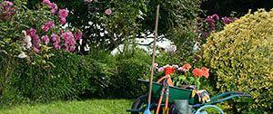 Aanleg van tuin